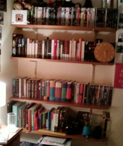 My tidy bookshelves!