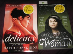 """Delicacy"" and ""How to be a Woman"""
