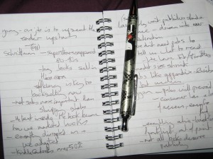 My LBF12 notes
