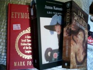My Christmas books!