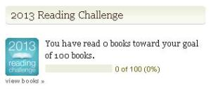My Goodreads Reading Challenge 2013