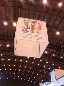 LBF13's Turkey Theme sign over the Turkey Zone.