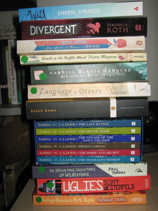 My To-Read Book Tower!